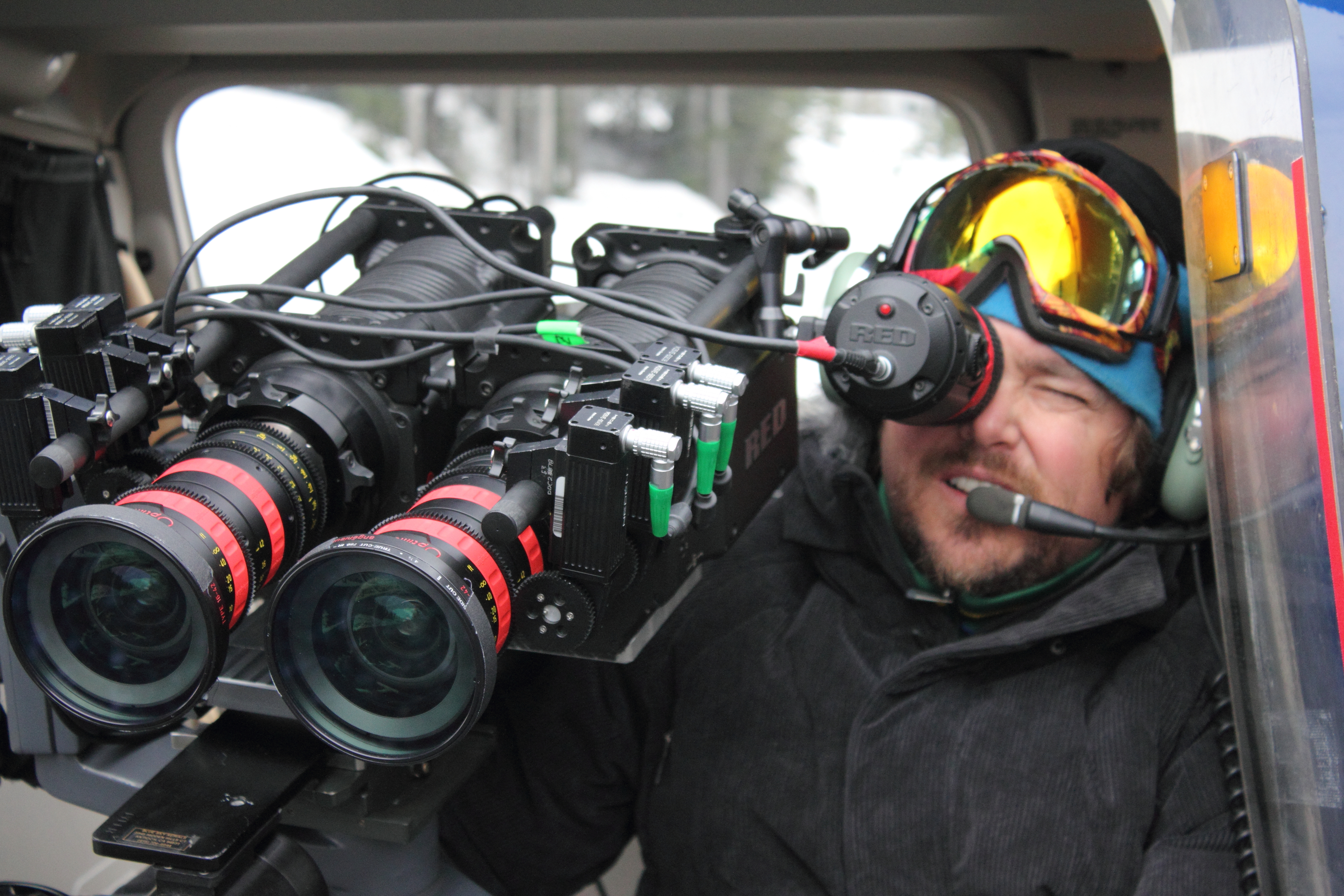 Todd Jones with Dual RED One Cameras