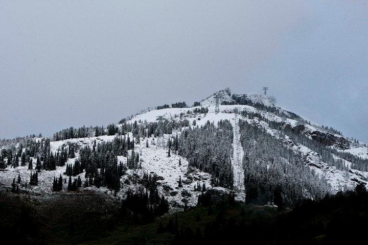 Early Season Snow: Jackson Hole. Photo Courtesy of Jackson Hole Mountain Resort.