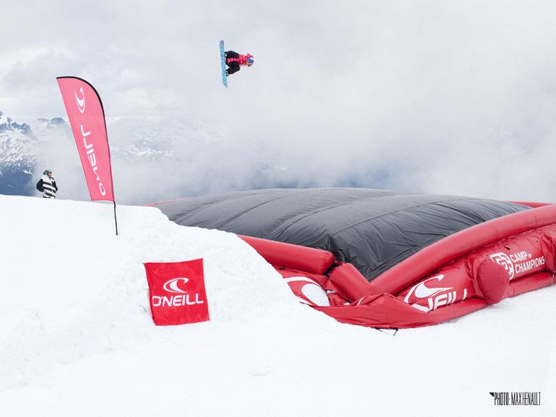 Snowboarder Celia Miller