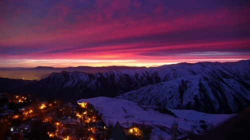 South American Sunset
