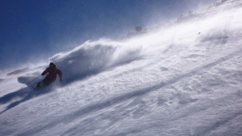 Deep Powder Turns in South America