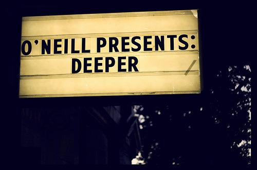 Theater Sign, Seattle Jeremy Jones Deeper Premiere