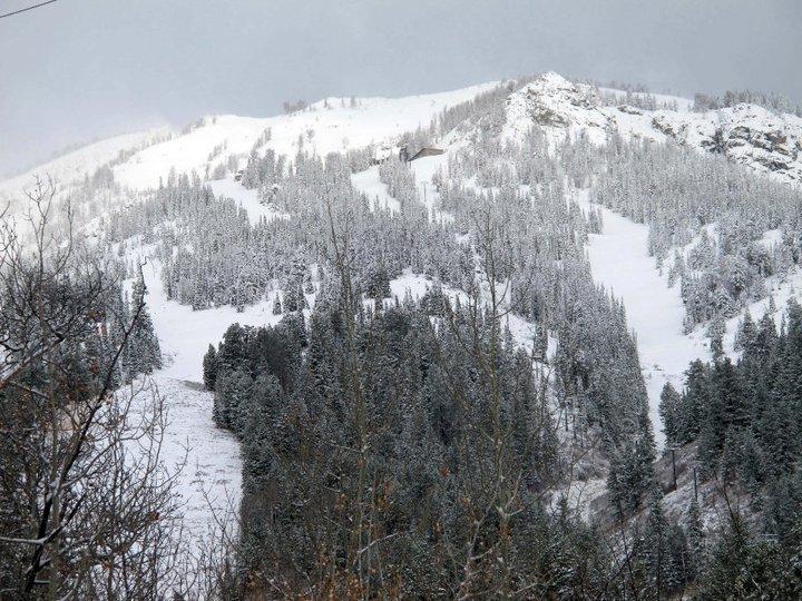 Jackson Hole Snow October 25, 2010
