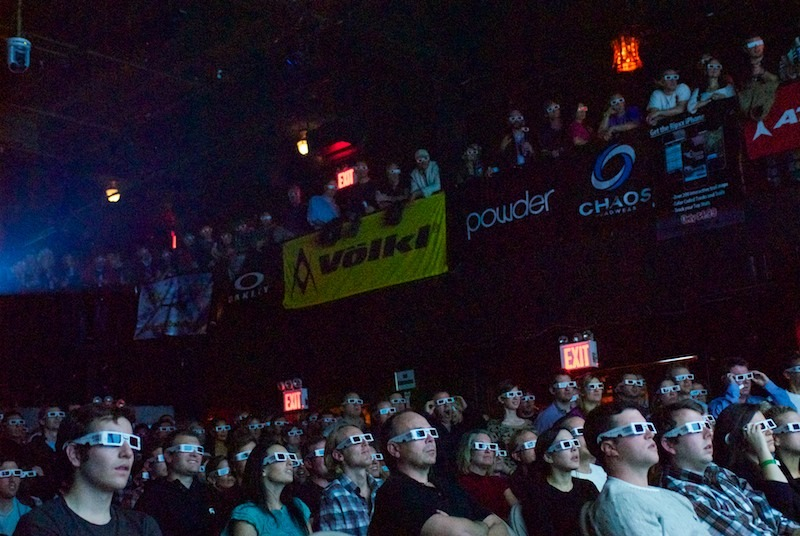 Packed house at Irving Plaza