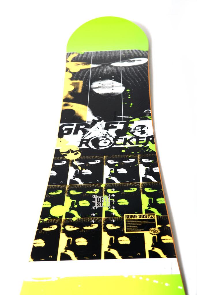 Rome Graft Rocker Top Graphic