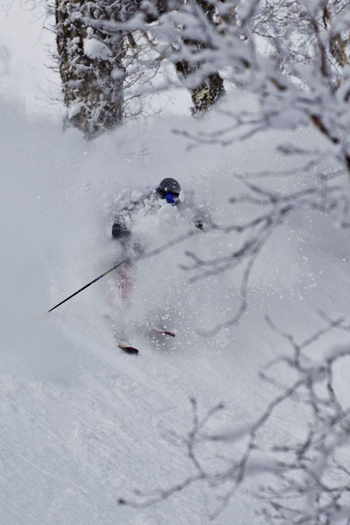 JAPOW! Skier: Chris Benchetler