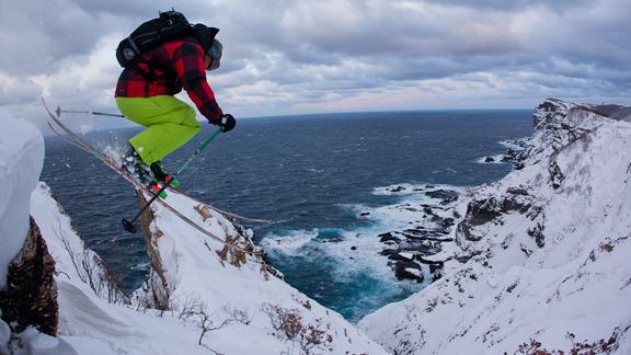 "Kung fu drop! Hai-Ya!!! Skier: Daron ""Rapid Racin"" Rahlves"
