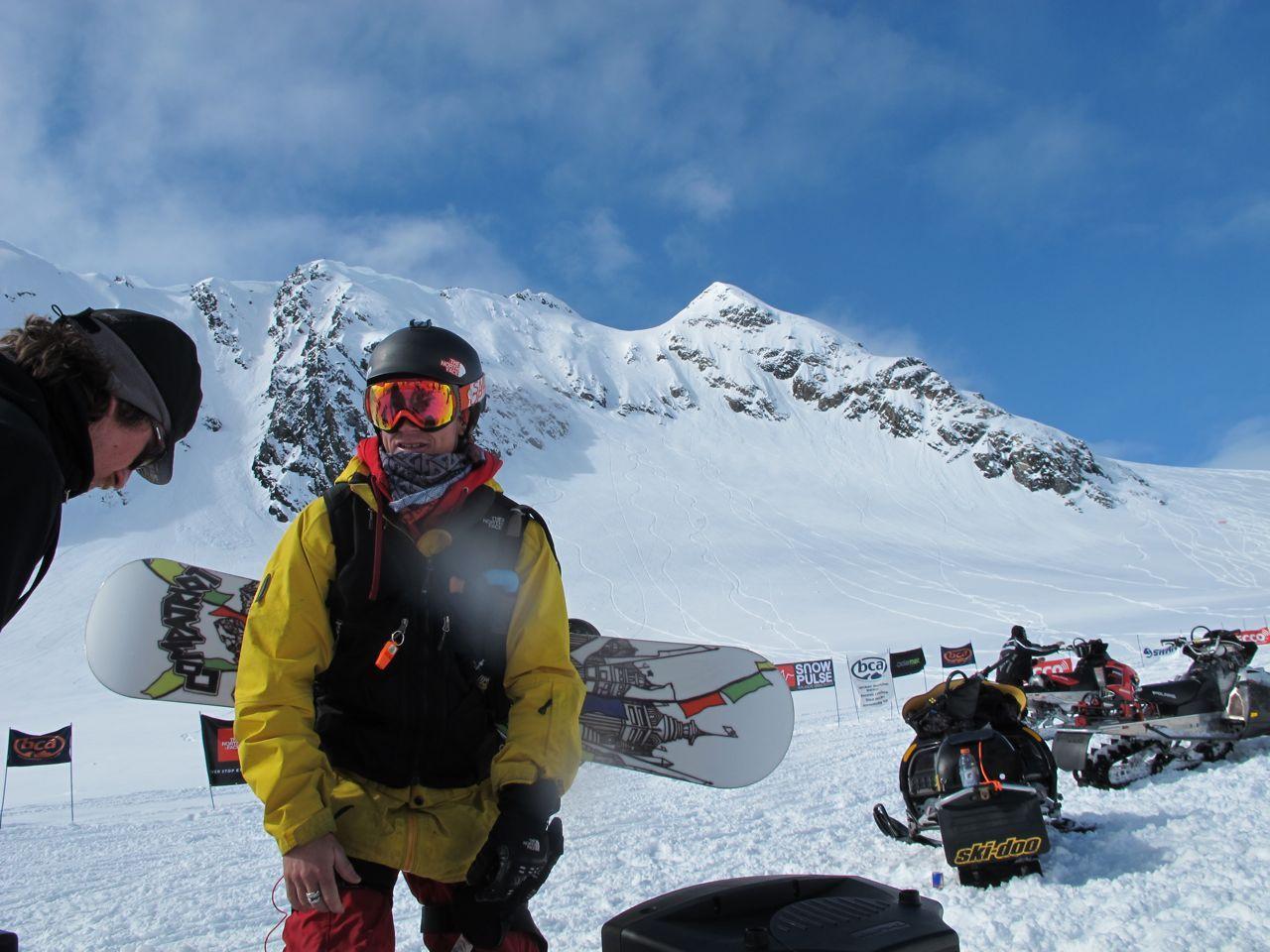 Skiing & Snowboarding Unite In Tailgate Alaska's Recco World Freeriding Championships