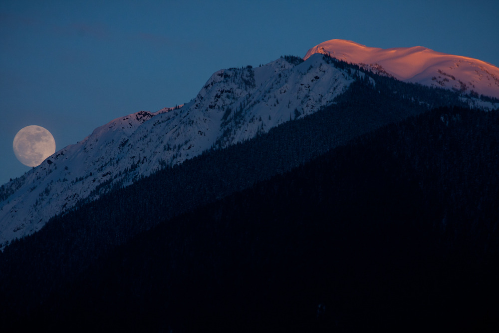 Pemberton sunset