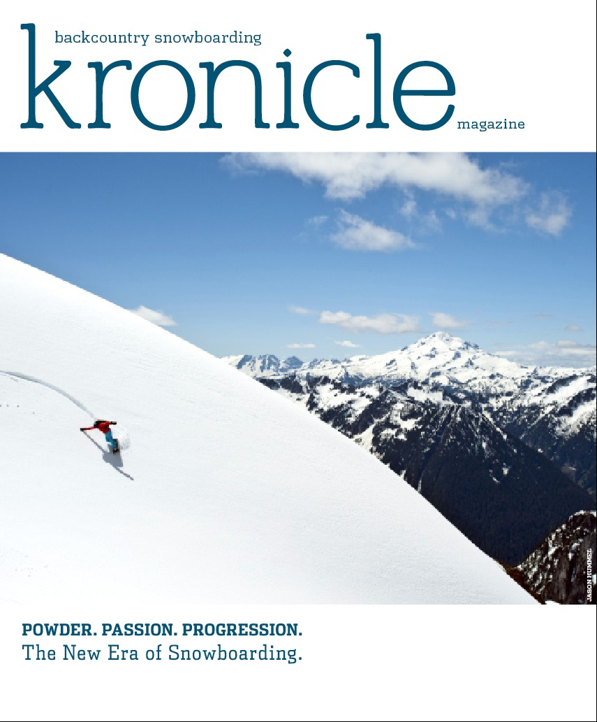 Kronicle Magazine Cover