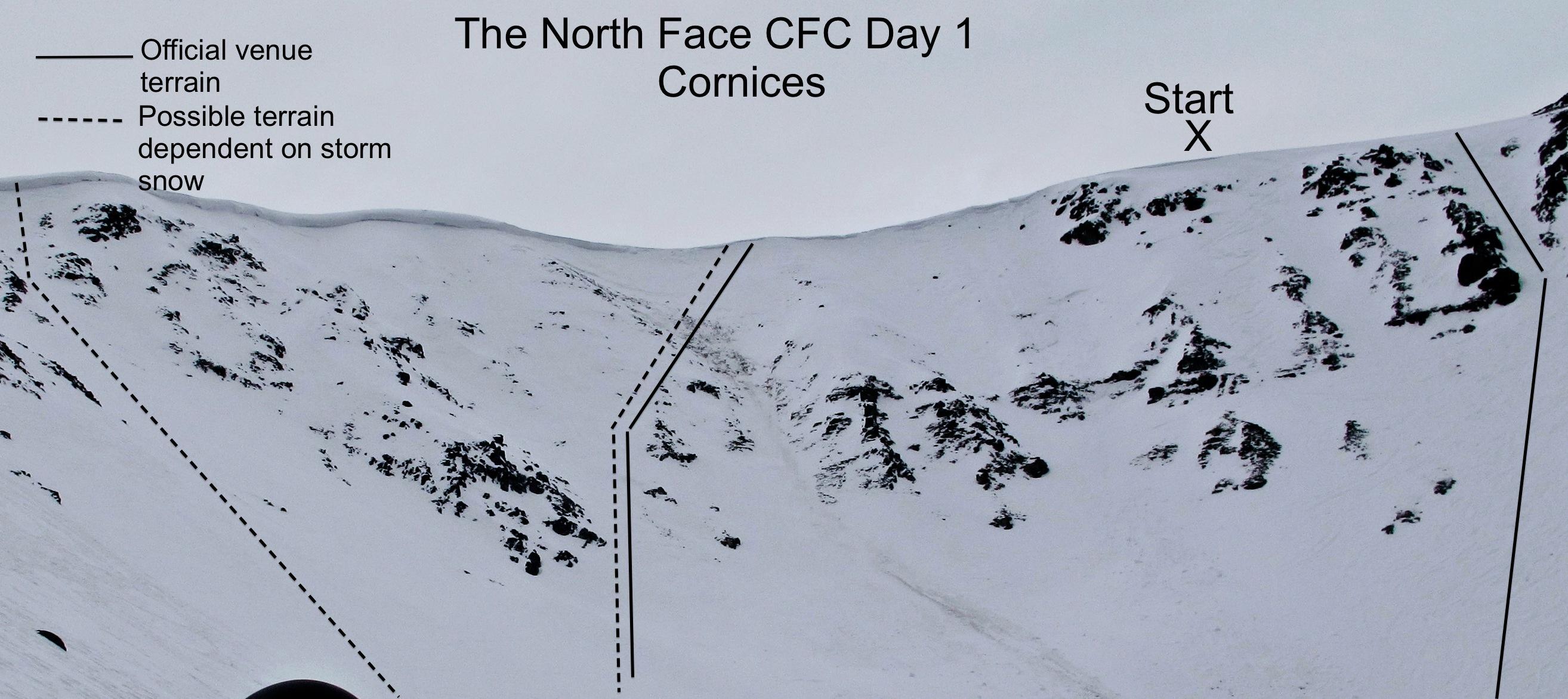 Freeskiing World Tour Chilean Freeskiing Championships venue
