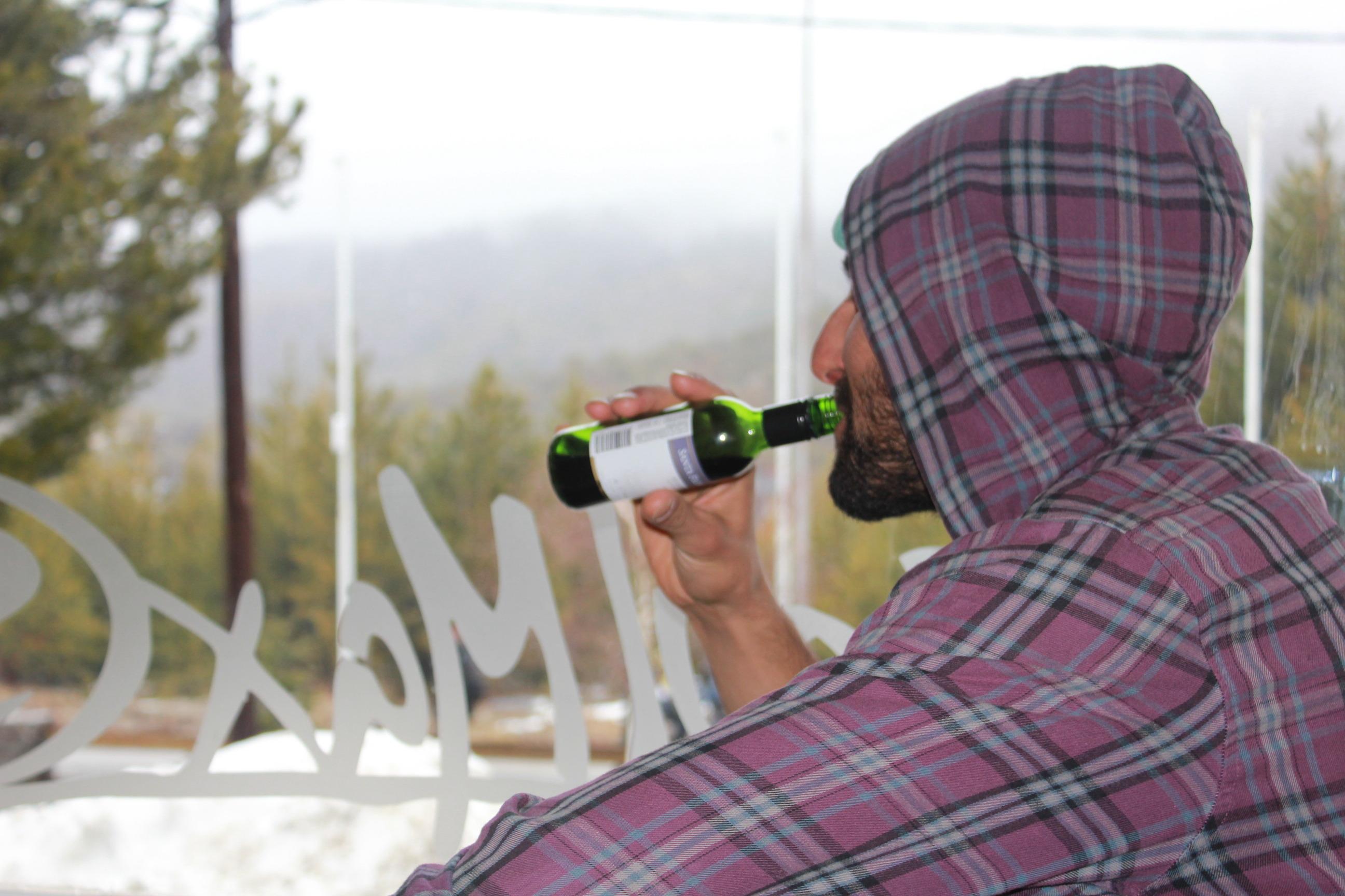 Tony Pavlantos drinks Malbec