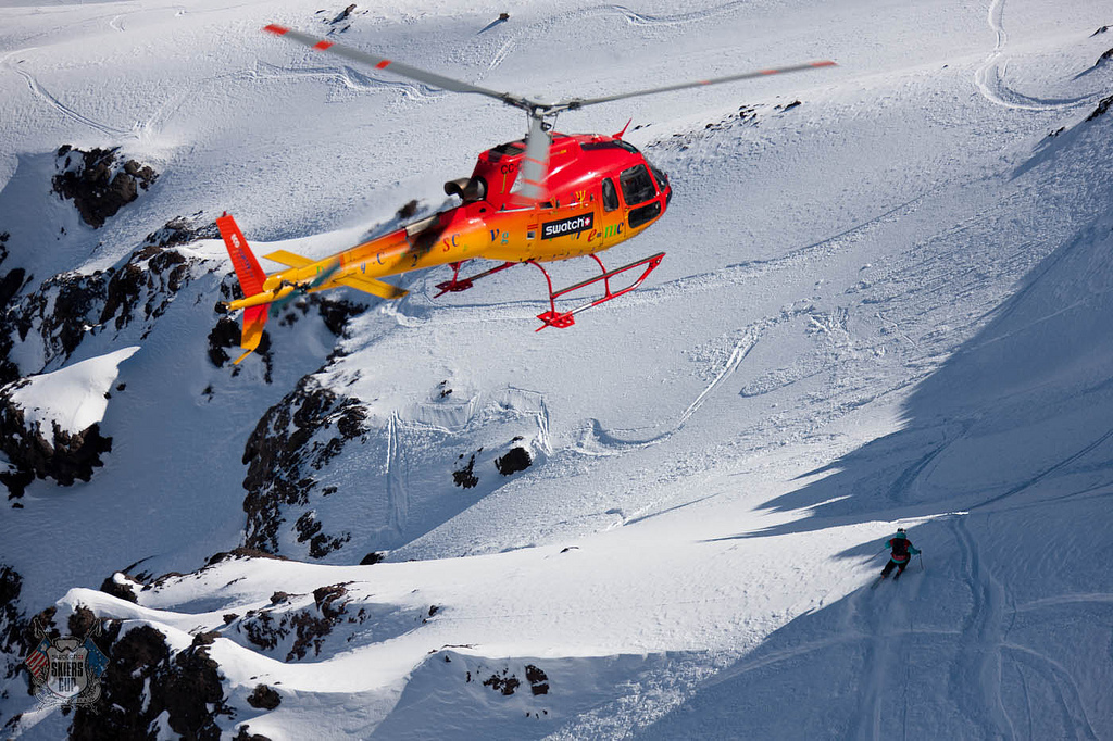 Swatch Skiers Cup Big Mountain Competition Chile Helicopter