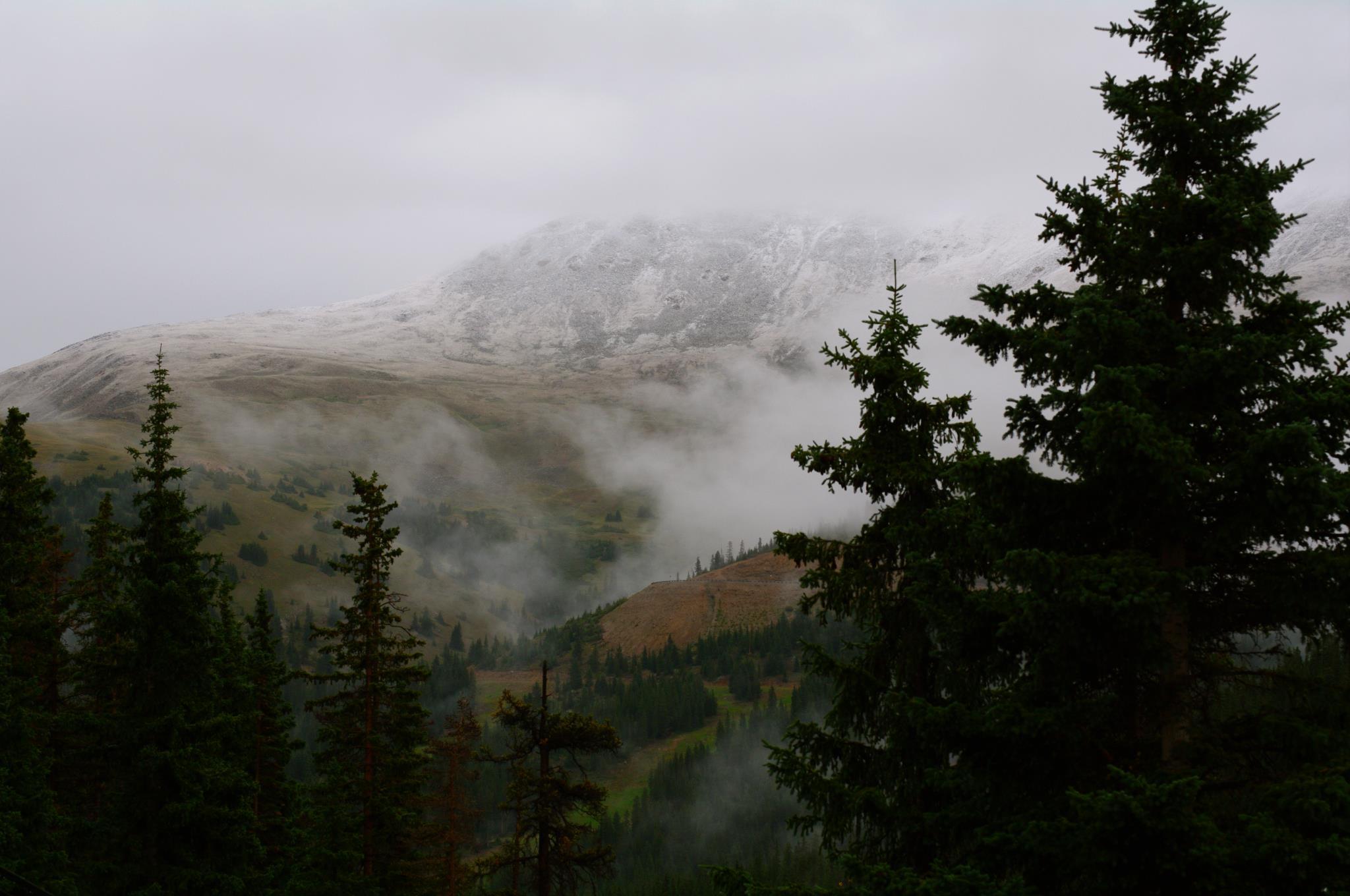 Loveland Ski Area September 2011 Snow