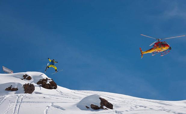 Kaj Zackrisson Team Europe Swatch Skiers Cup