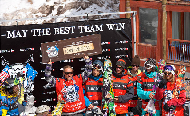 Swatch Skiers Cup Team Americas Second Place