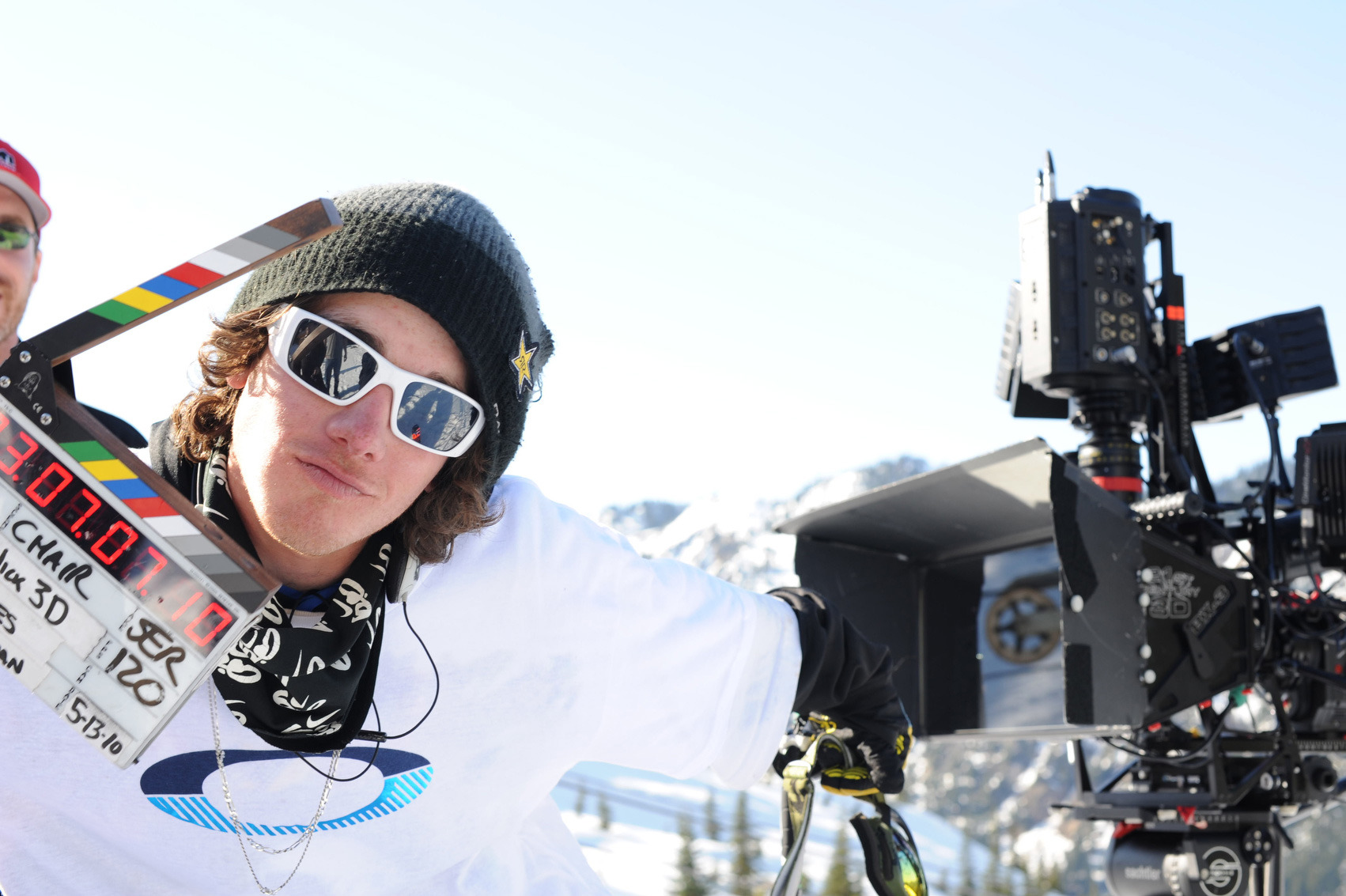 Sammy Carlson At Stevens Pass While Filming For Light The Wick