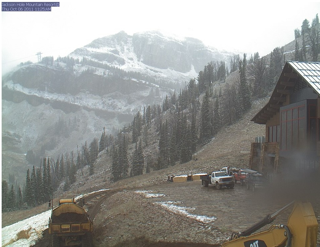 Jackson Hole Snow October 2011