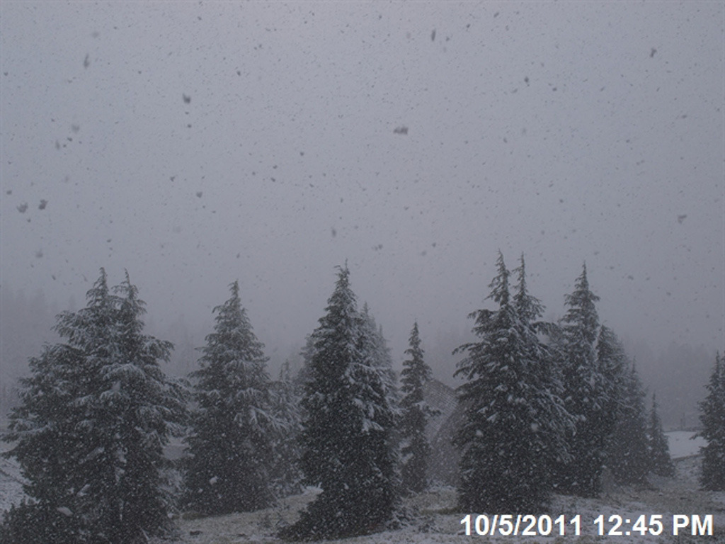Mount Hood October Snow 2011