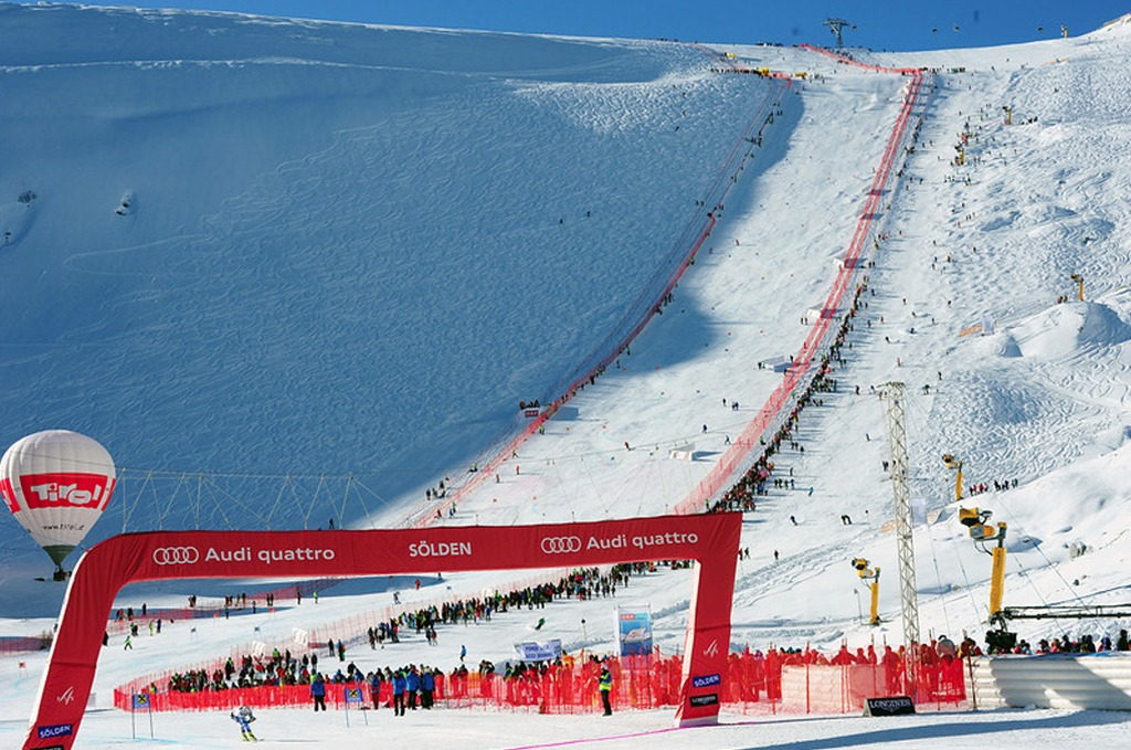 Audi FIS World Cup GS Opener 2011