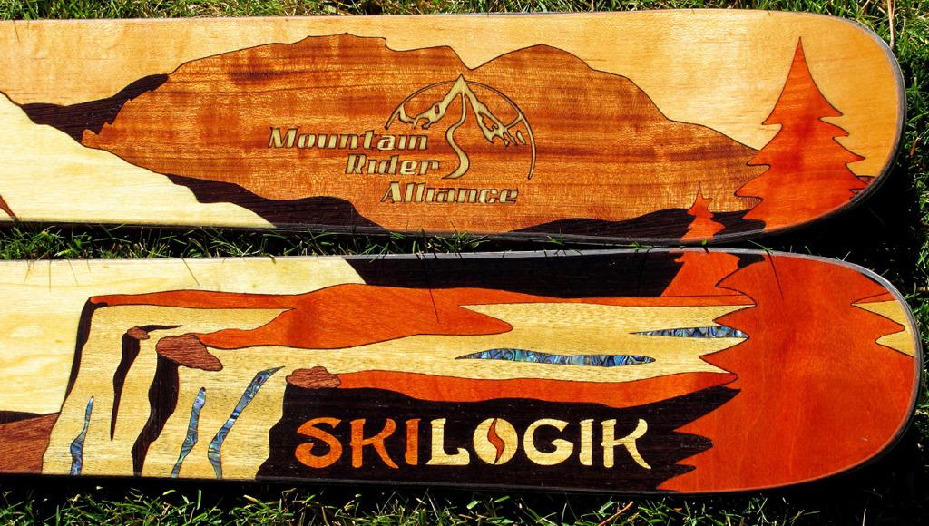 Skilogik MRA ski tails