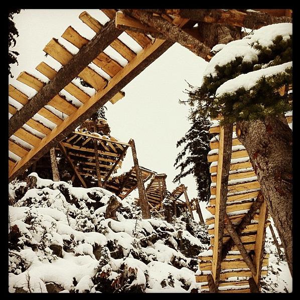 Supernatural jumps at Bald Face Lodge