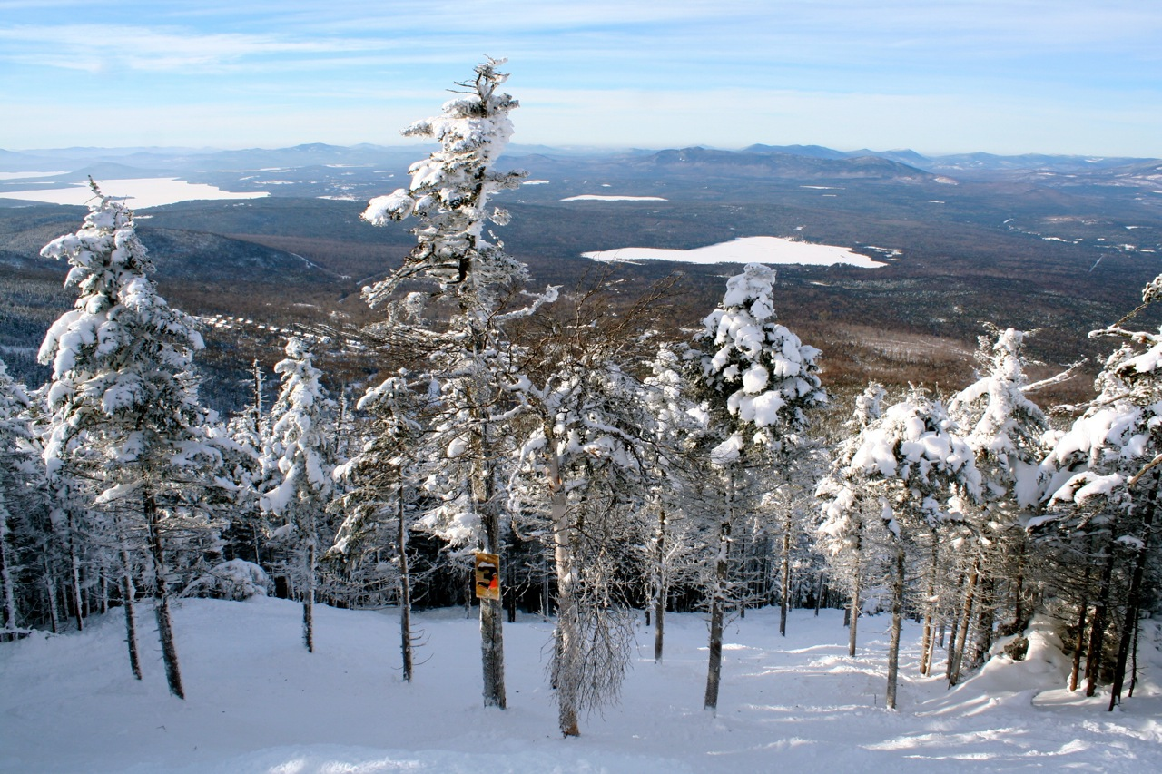 Saddleback Glades in Maine