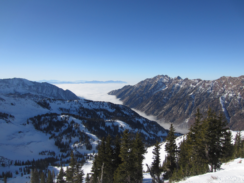 The view from Snowbird