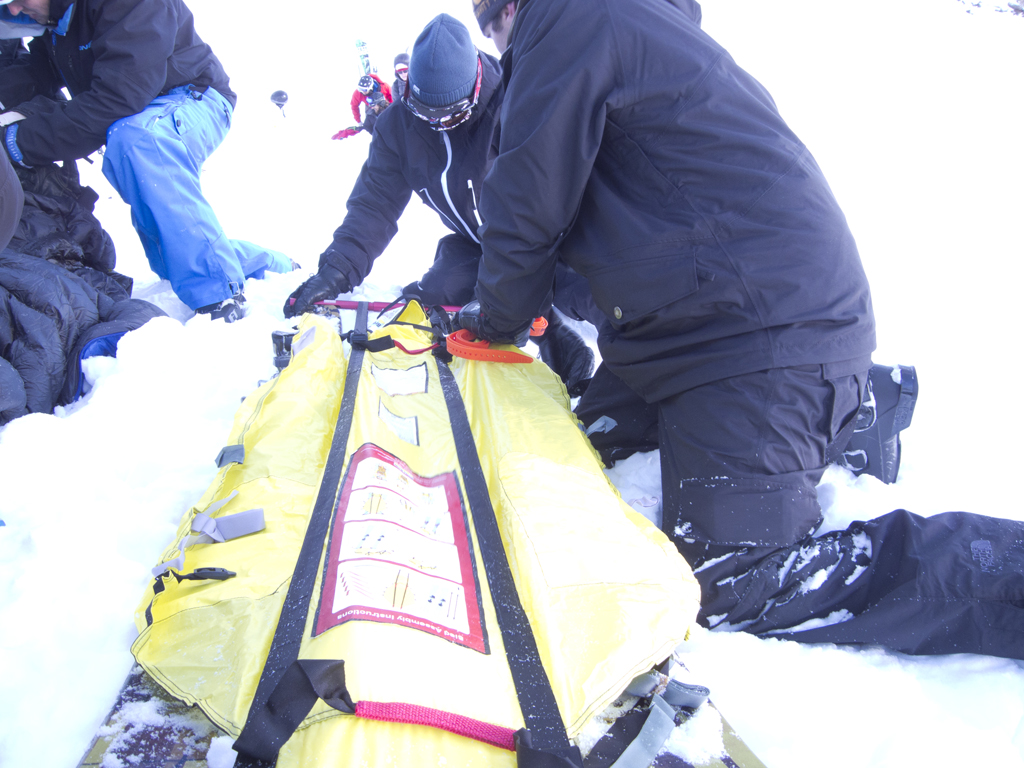 Building a Brooks Range Rescue Sled