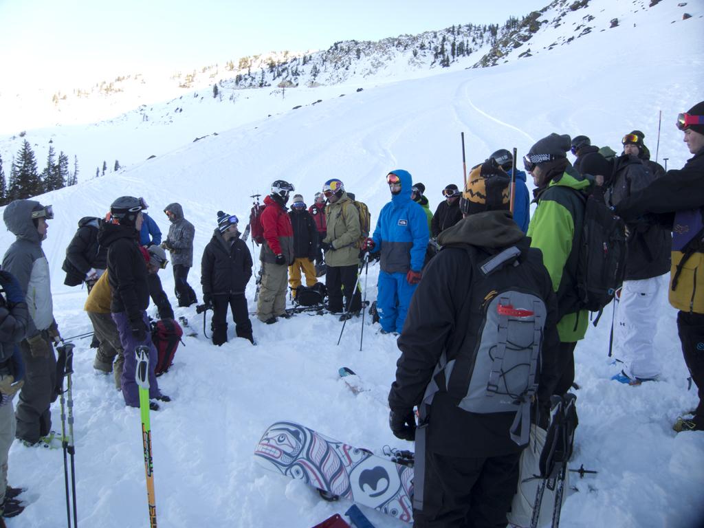 Regrouping at Snowbird