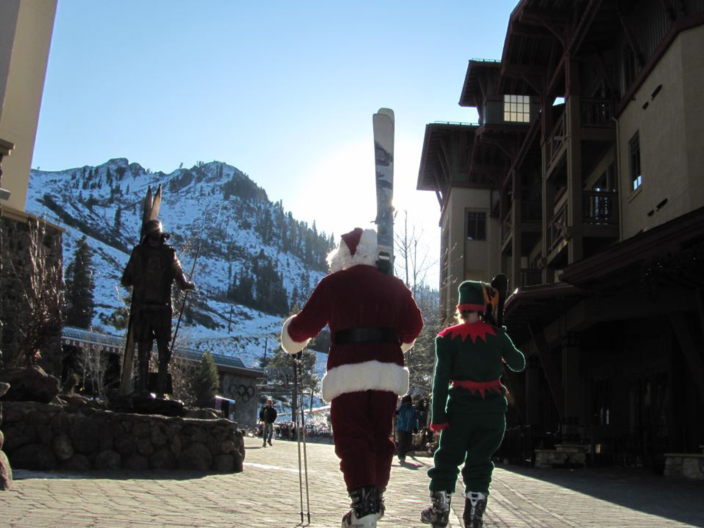 Santa at Squaw