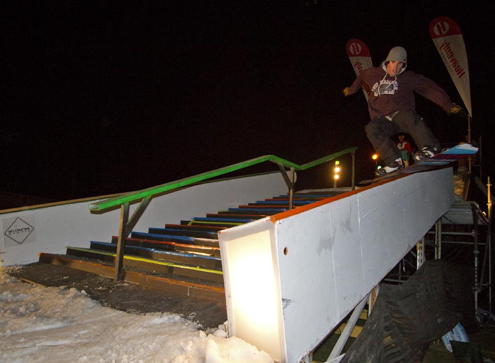 SnowGlobe rail jam