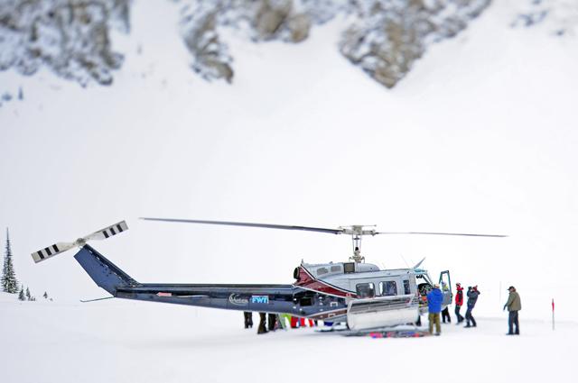 Revelstoke Helicopter