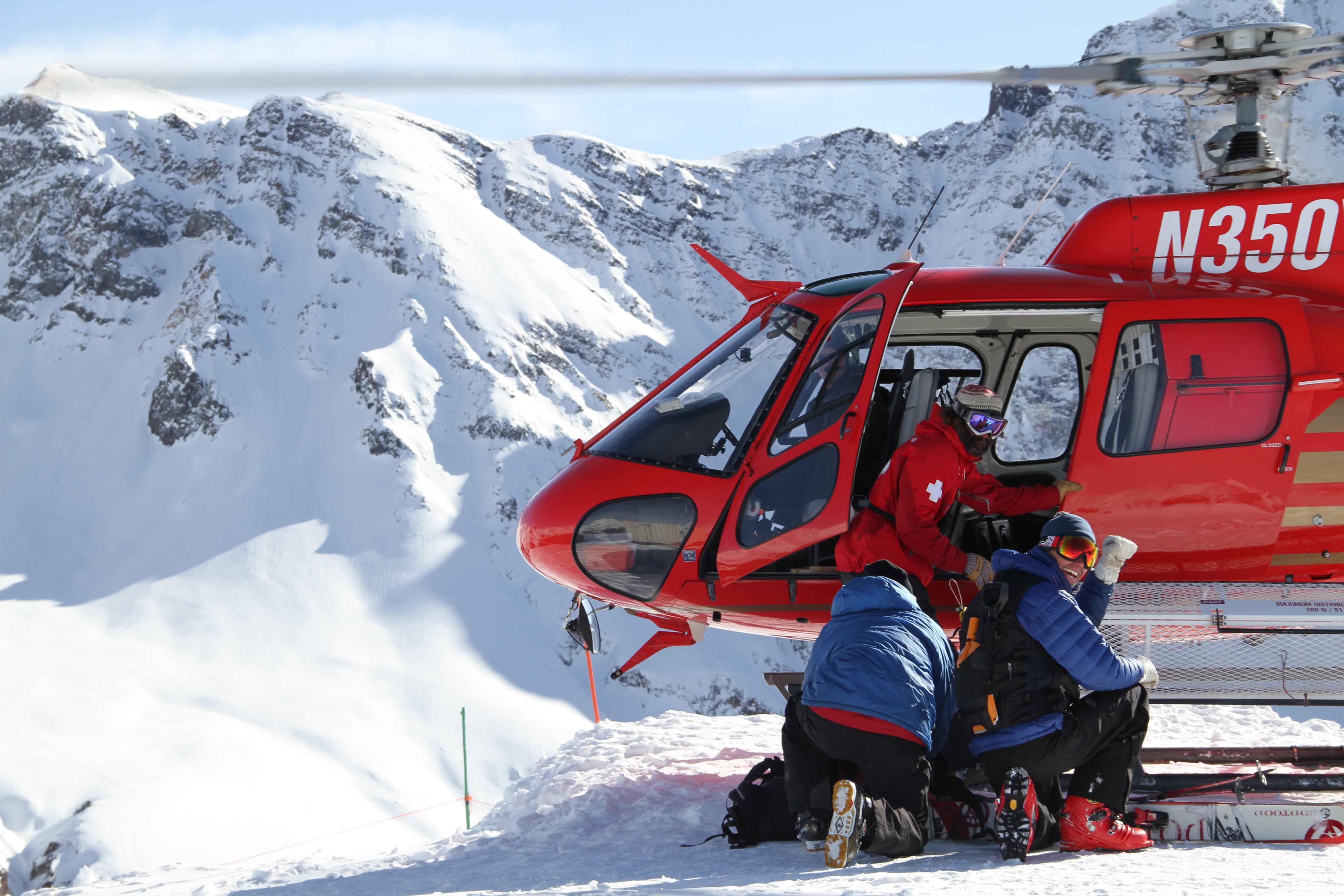 Heli-Skiing At Silverton Mountain