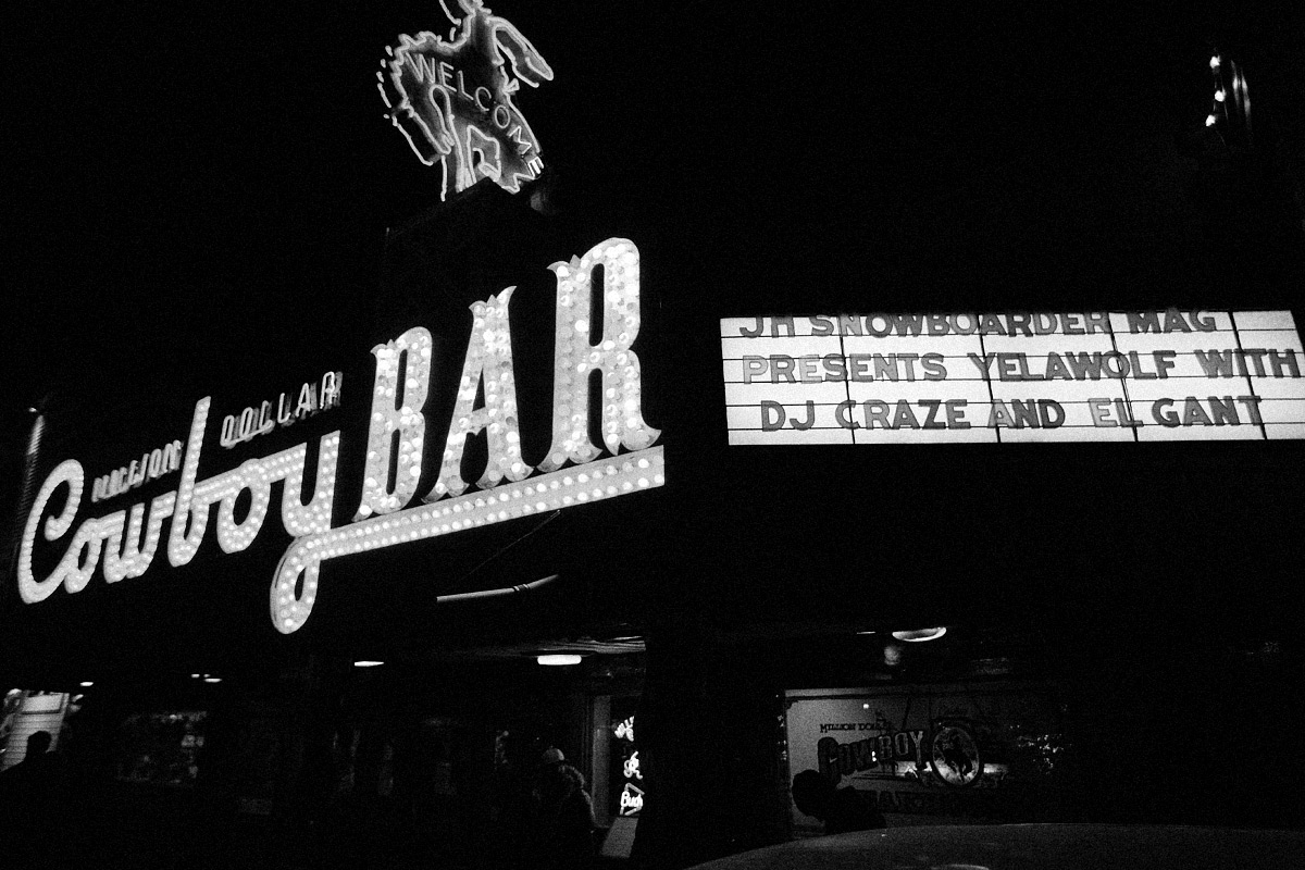 JH Snowboarder Magazine Party at The Million Dollar Cowboy Bar