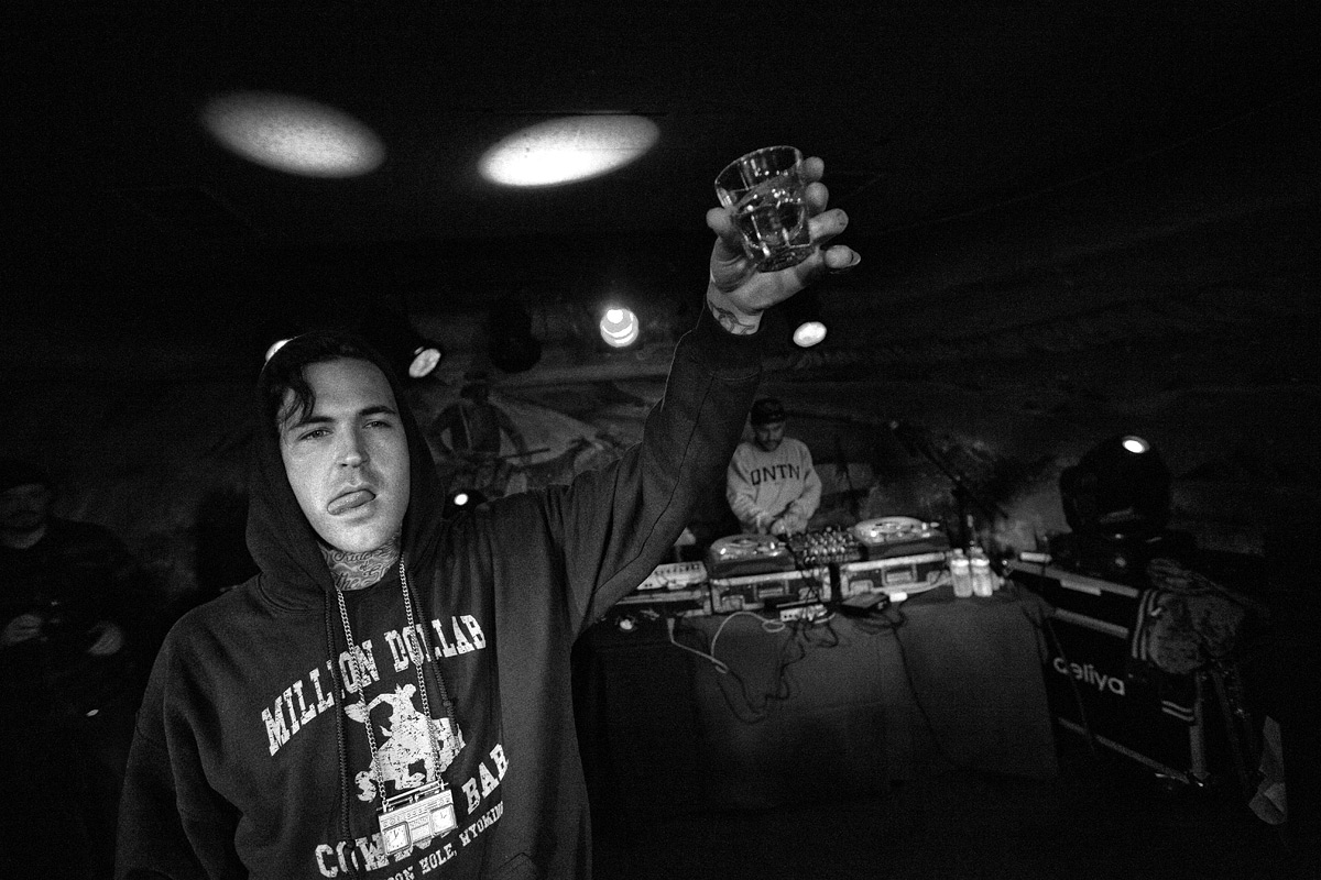 Yelawolf And DJ Craze At The Million Dollar Cowboy Bar