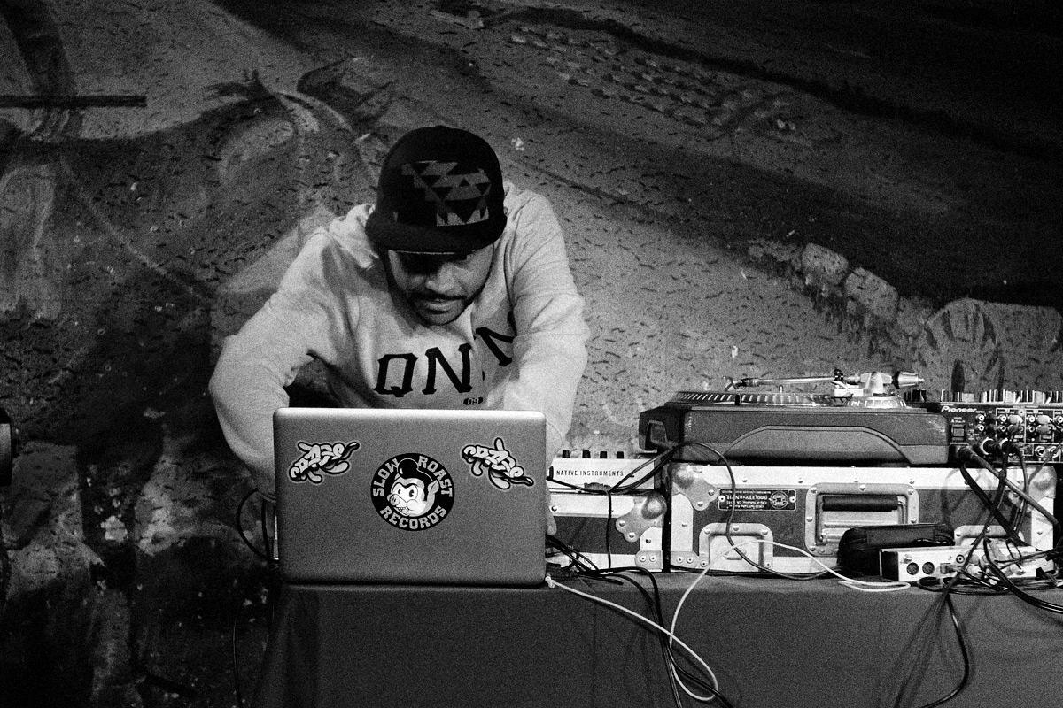 DJ Craze At The Million Dollar Cowboy Bar