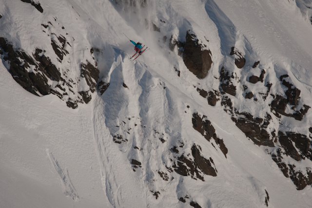Tim Durtschi grew up skiing at Alyeska and has been guiding us around to all of his secret stashes.