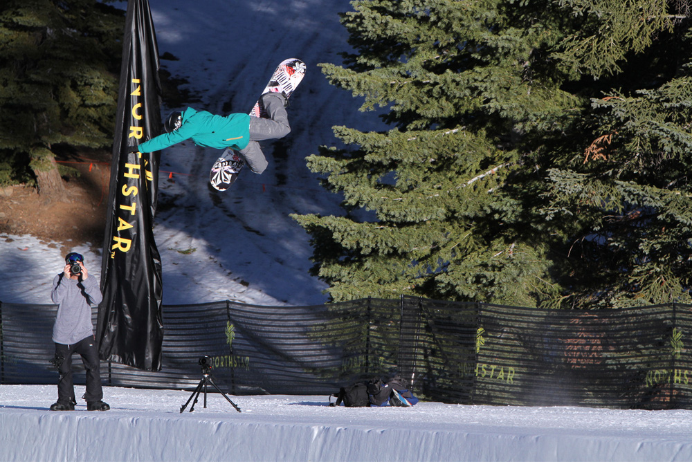 Elena Hight boosts at Northstar