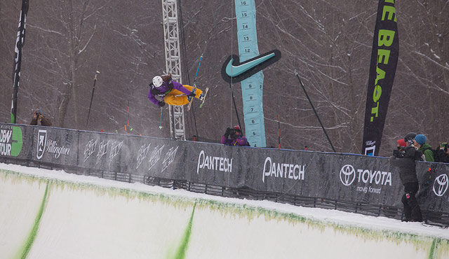 Maddie Bowman at Dew Tour Pantech Invitational