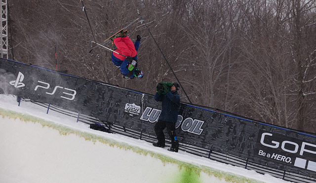Devin Logan at the Dew Tour Pantech Invitational In Killington