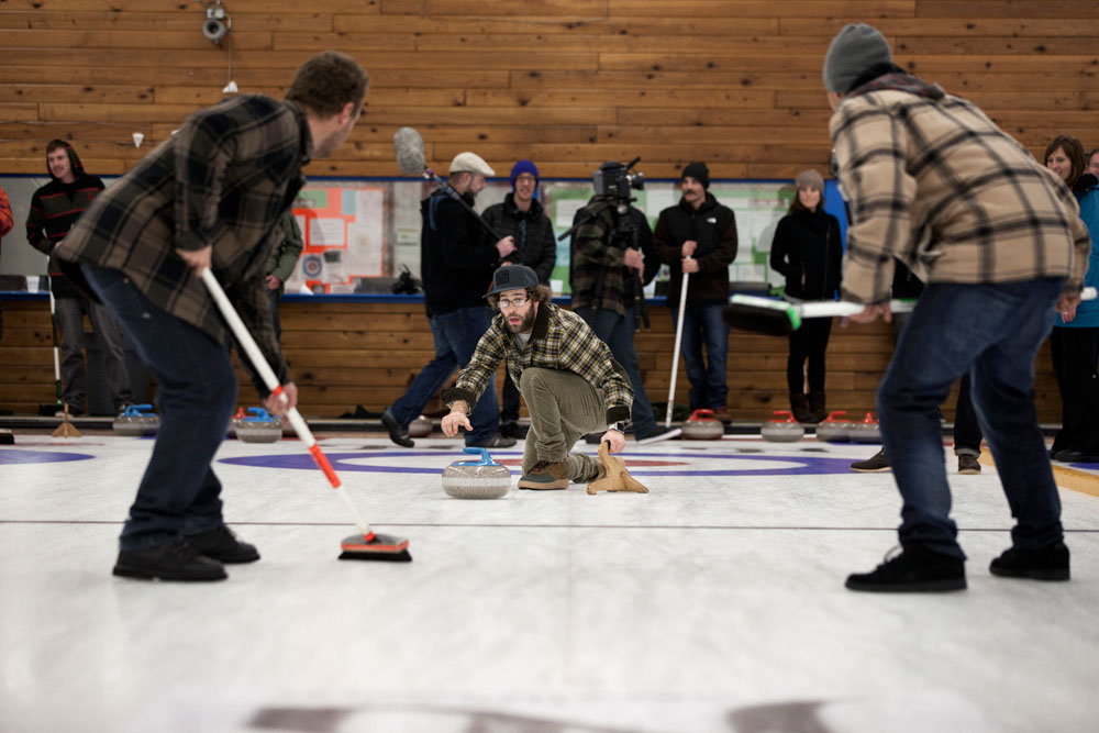 Eric Jackson Curling Photo By Christian Pondella