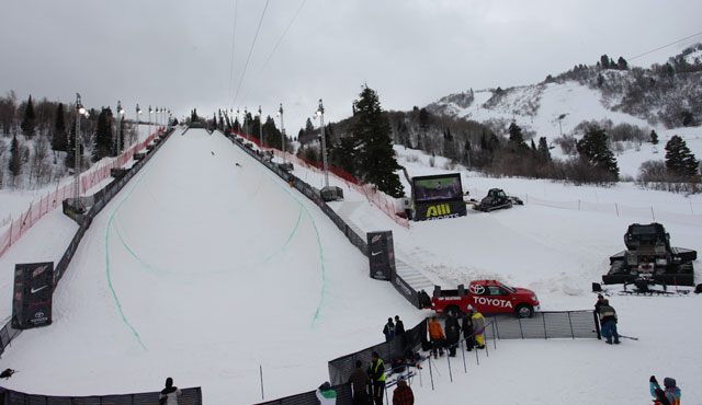 Winter Dew Tour Toyota Championships Halfpipe At Snowbasin