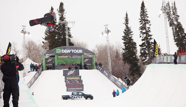 Louie Vito Dew Tour Snowbasin