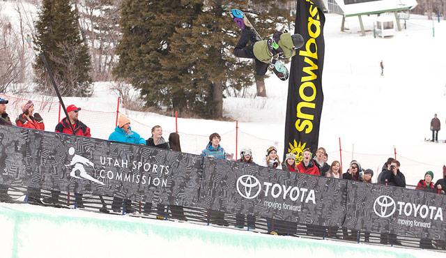 Kelly Clark Dew Tour Snowbasin