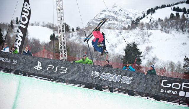 Devin Logan Dew Tour Snowbasin