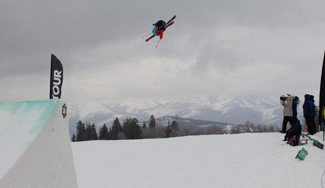 Tom Wallisch Dew Tour Snowbasin