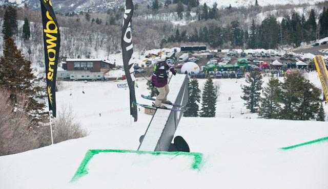 Kaya Turski Dew Tour Snowbasin