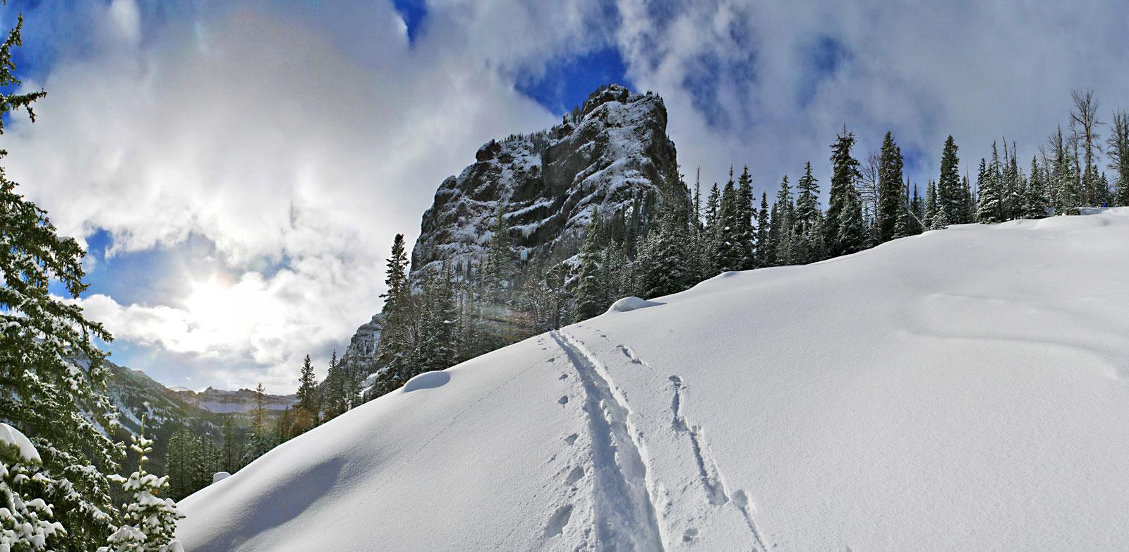 The Gallatin Range by Pat Clayton