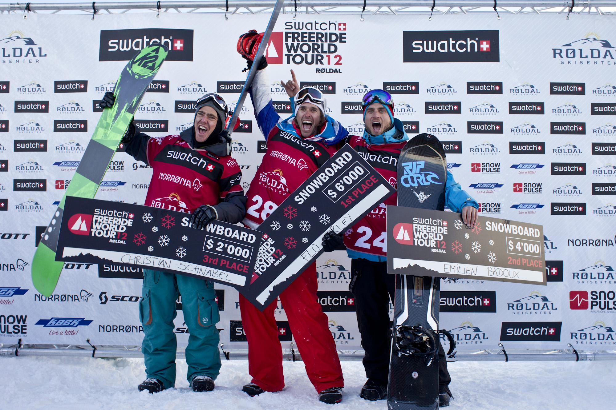 FWT Snowboard Men